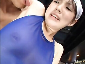 Japanese girls armpits being licked by pervs