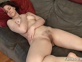 Tempting Redhead Masturbating