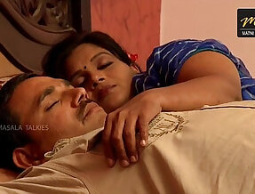 Indian wife sharing bed with Husband friend when his husband deeply sleeping