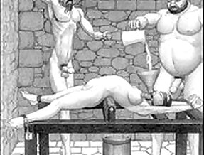 Dungeon terrors brutal extreme bdsm toons art