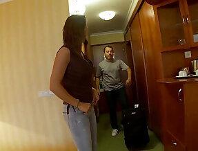 Porno mexicano, video amateur con su novia hungara!!
