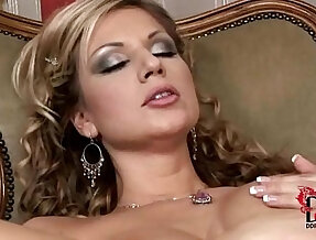 Hot busty babes enjoys fucking and licking their dildos