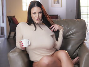 It\'s coffee time with Angela White