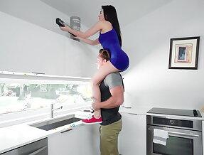 New house kitchen sex