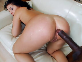 Madelyn takes her first big black dick
